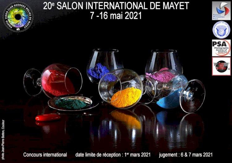 20e Salon International de la Photographie, Mayet 2021